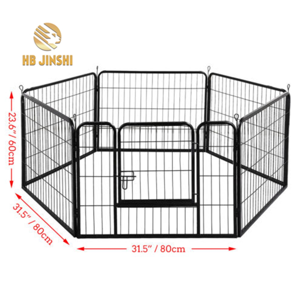 6 Sided Heavy Duty Puppy Playpen