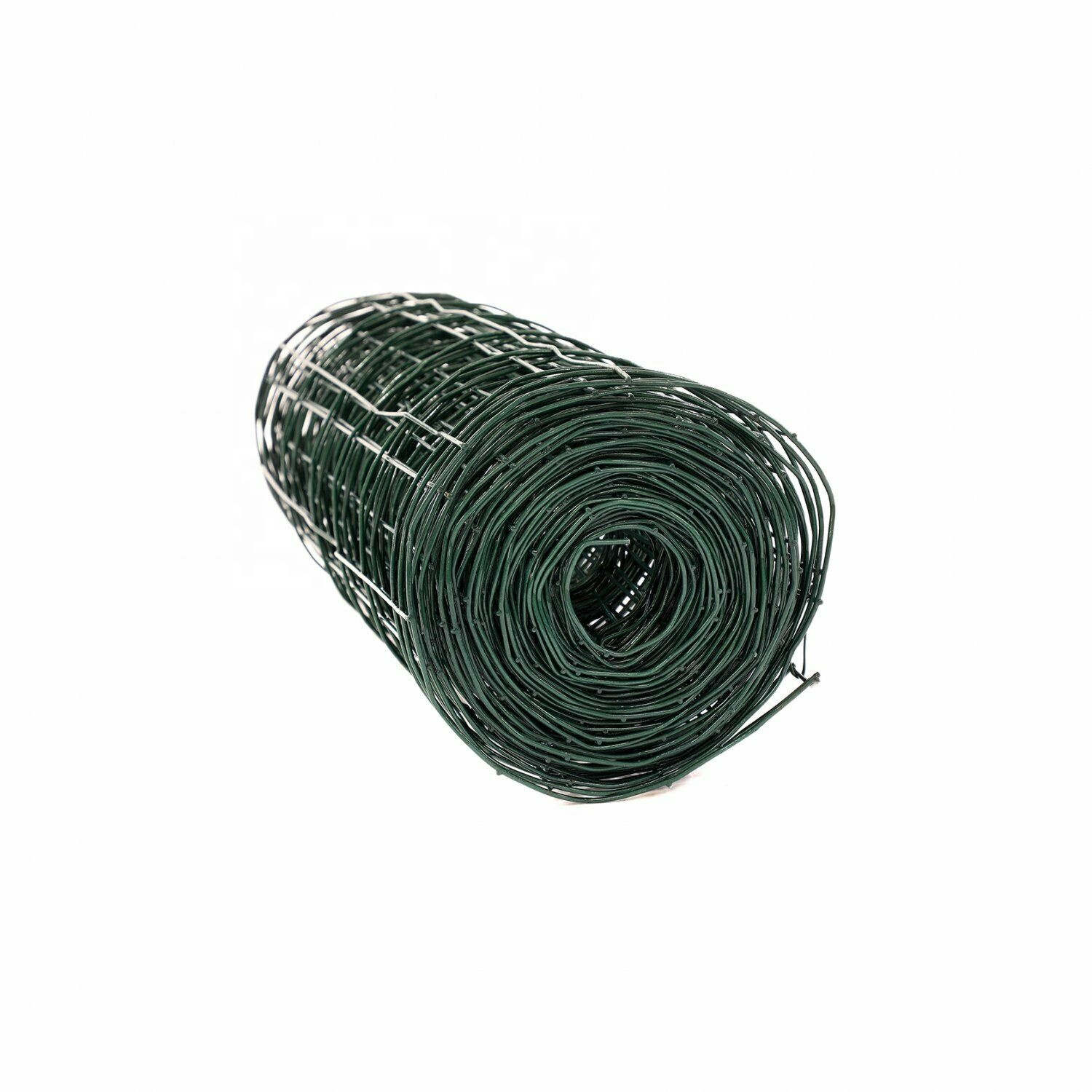 Green PVC Coated Galvanised Steel Wire Mesh Fencing Garden Euro Fence