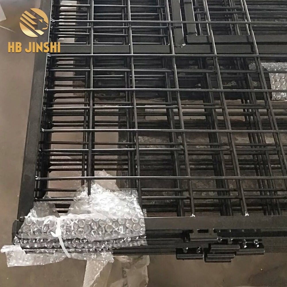Massive Selection for Flat Wrap Razor Wire - factory sales 60 cm x 60 cm panels Welded mesh Dog cage – JINSHI