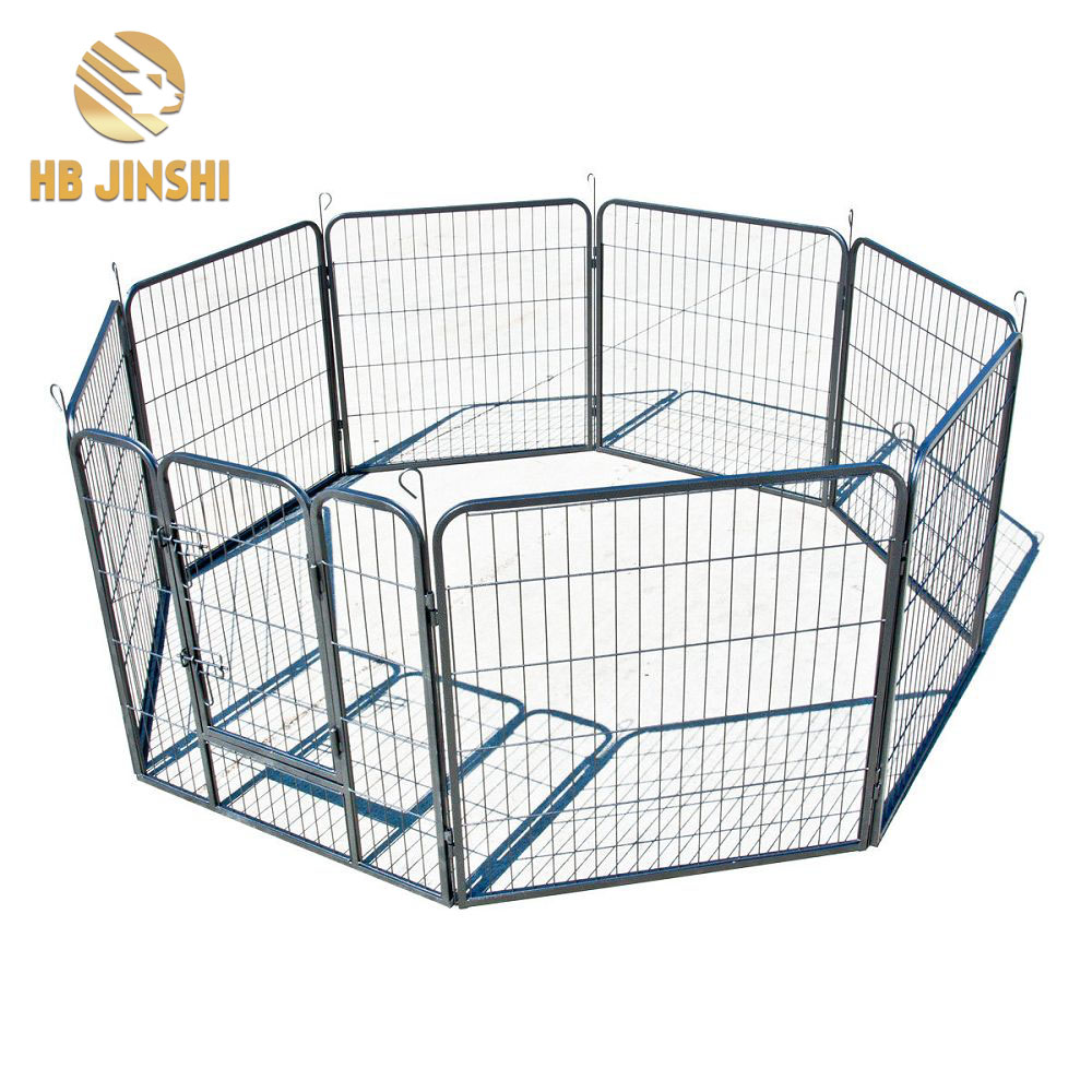 16 pcs Pet Dog Cat Barrier Fence Exercise Metal PlayPen different shape playpen