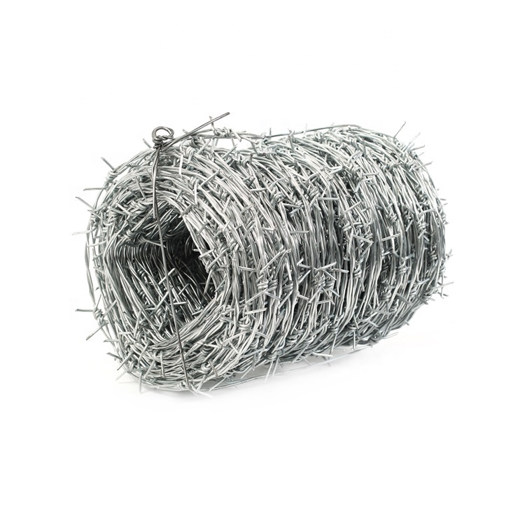 1.8mm Barbed Wire Price per roll / High tensile Steel Farm Fencing Barbed Wire