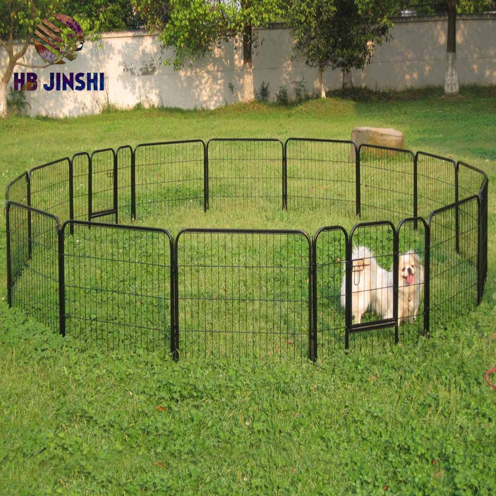 factory Outlets for Barbed Wire Fence Supplies - factory sales 60 cm x 60 cm panels Welded mesh Dog cage – JINSHI