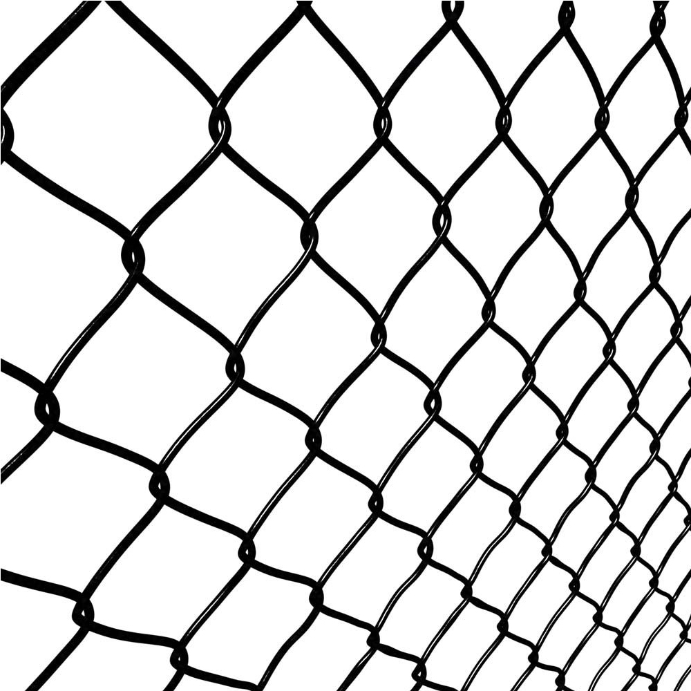 6ft green coated chain link fence diamond netting wire mesh netting