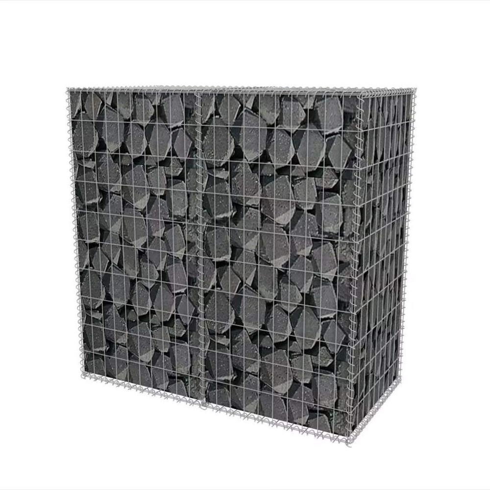 Garden Features Welded Wire Retaining Wall Heavy Galvanized Gabion Mesh Wall 60*60*100cm