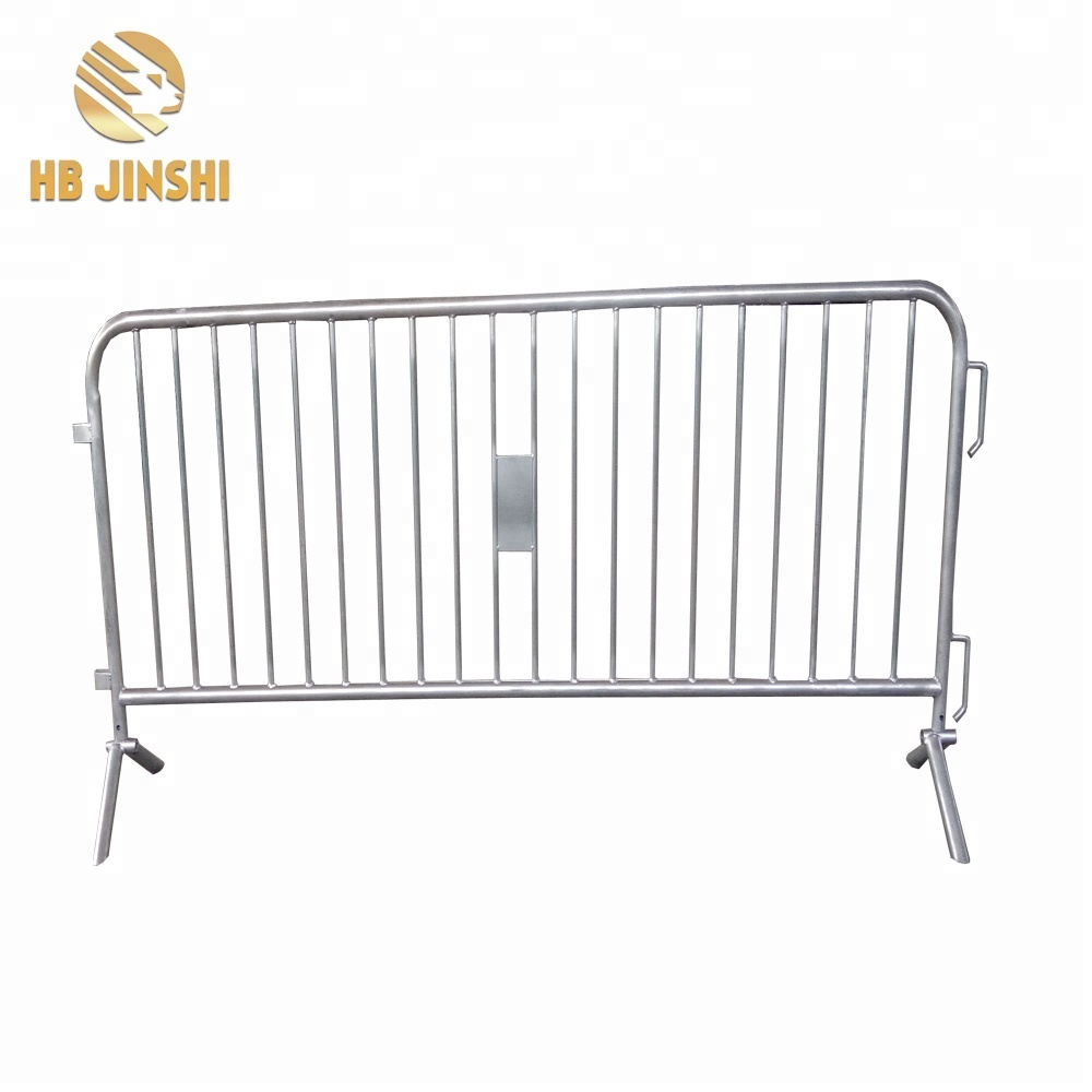 Original Factory Diamond Fence - Factory Hot dipped galvanized 1.1×2.5m Temp fence panel police barricades temporary fence – JINSHI