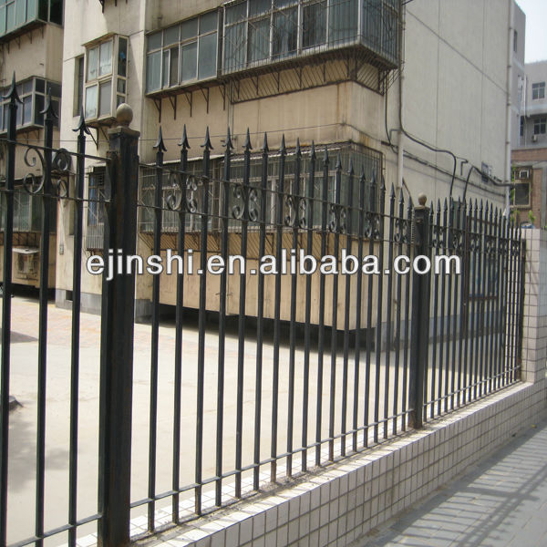 factory customized Steel Fence - Wrought Iron fence – JINSHI
