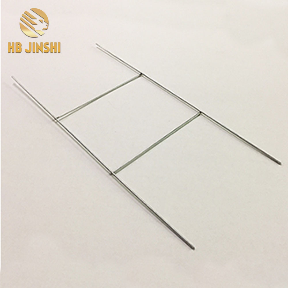 Good Wholesale Vendors Stainless Steel Landscape Staples – Economy step stakes, H Frame wire stake ,( galvanized ) H ladder wire – JINSHI
