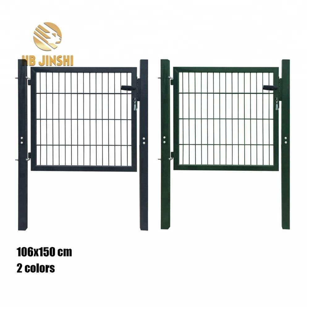 Eco Dark green garden gate