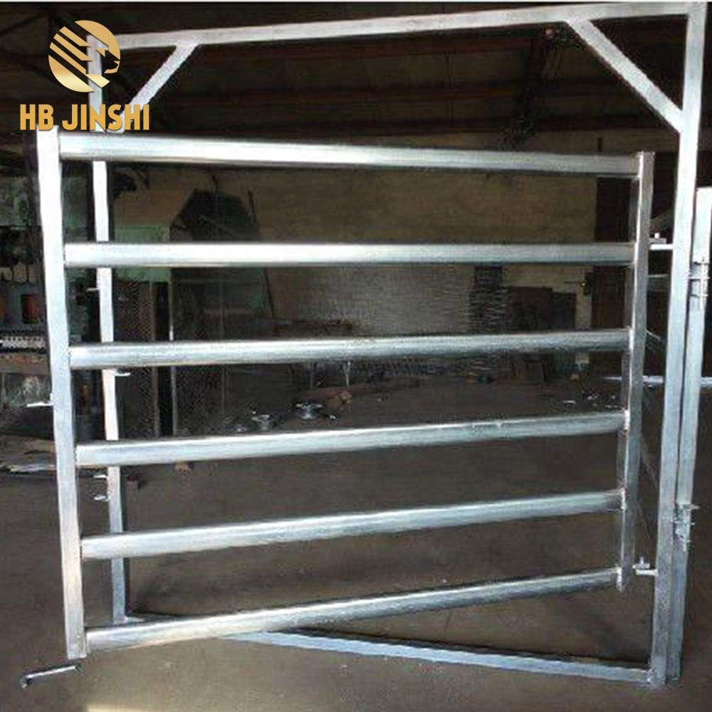 Massive Selection for Temporary Fence - Heavy Duty Steel Cattle Yard Gate – JINSHI