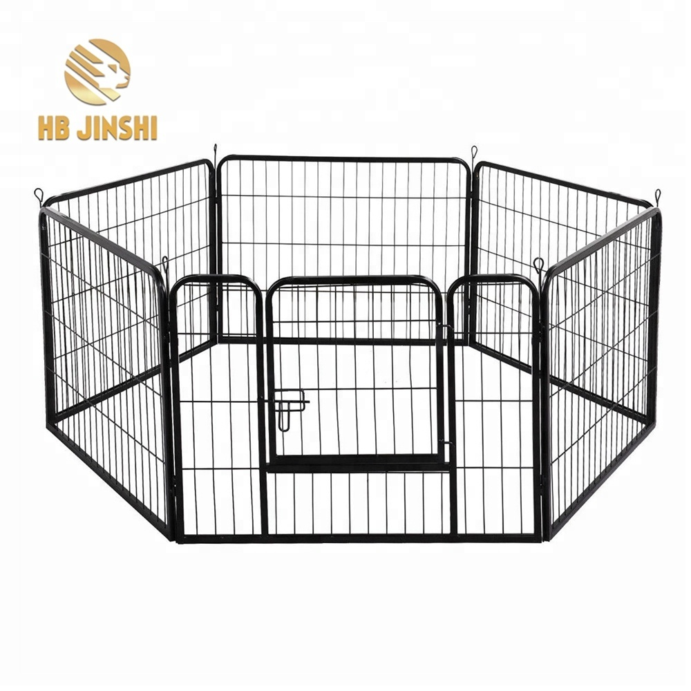 8 pcs 81x81cm Pet Dog Exercise Metal PlayPen