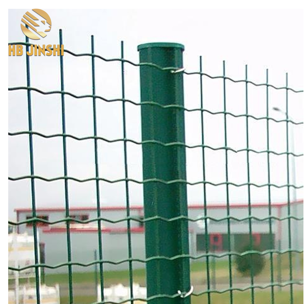 50x50mm mesh Galvanized PVC Coated Euro Fence