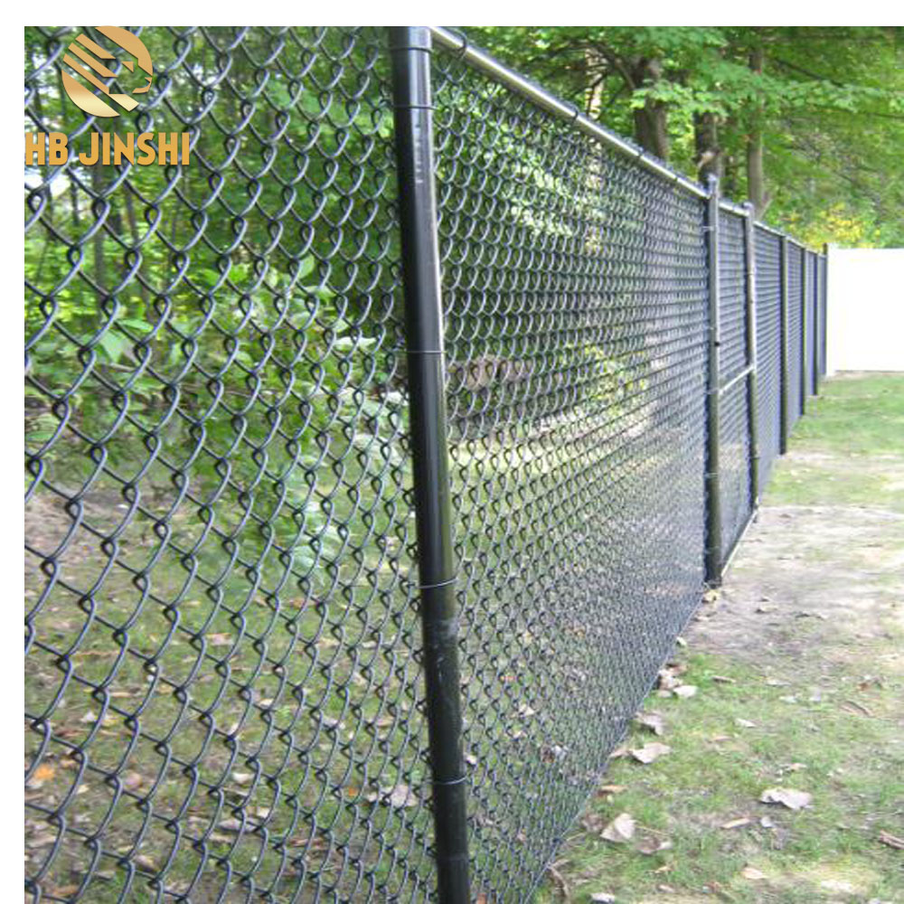 2018 Hot Sale Galvanized PVC Coated Chain Link Fence Diamond Fence