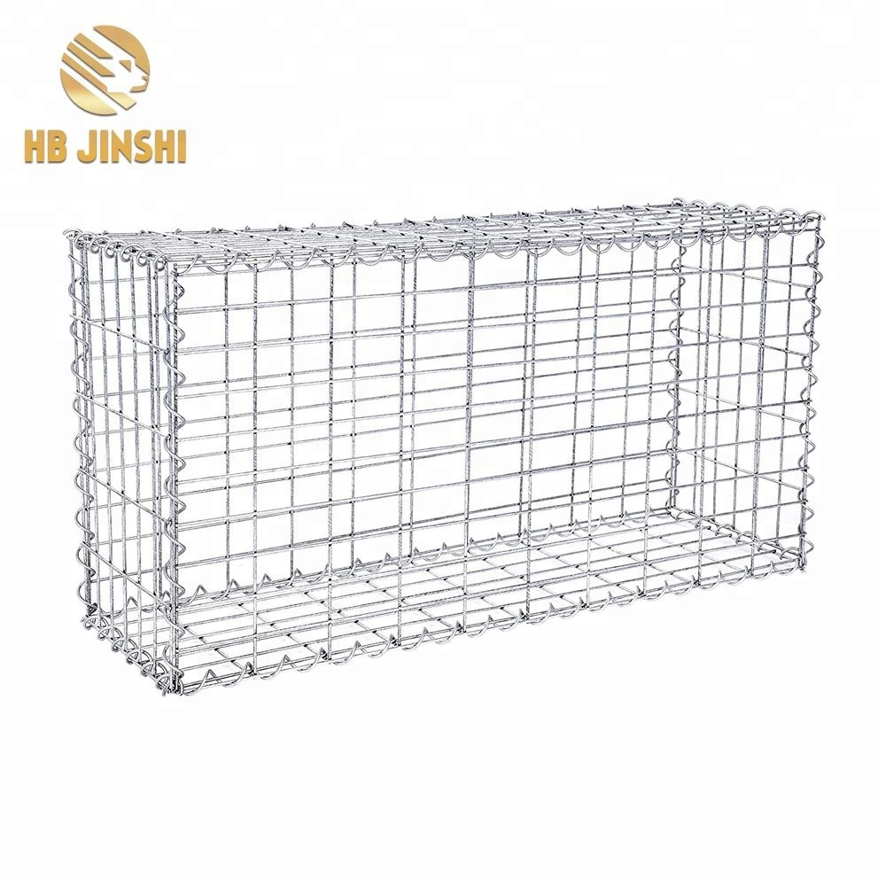 100x50x30cm hot dipped galvanized welded gabion box wall