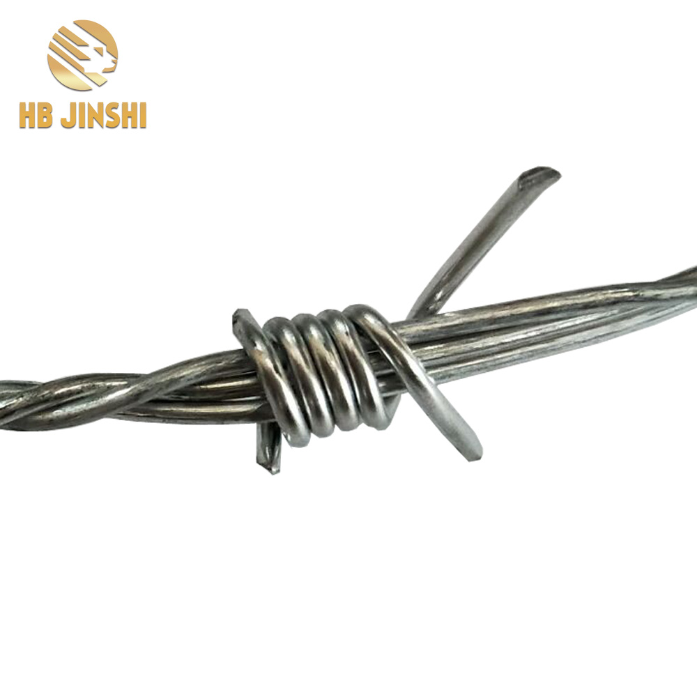 Factory Supply Cheap Price Galvanized Double Twisted Barbed Wire 16 x 16 Barbed Wire