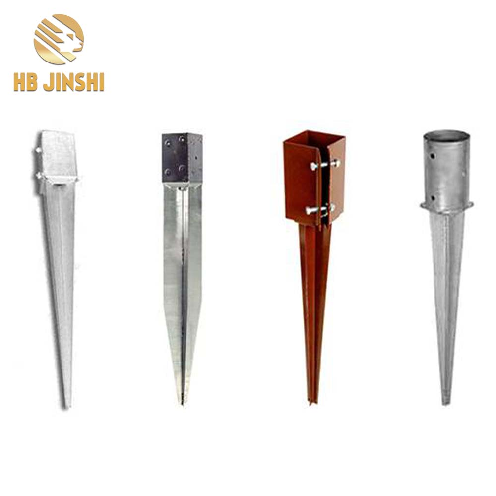 Factory Supply Galvanized Metal Fence Posts -