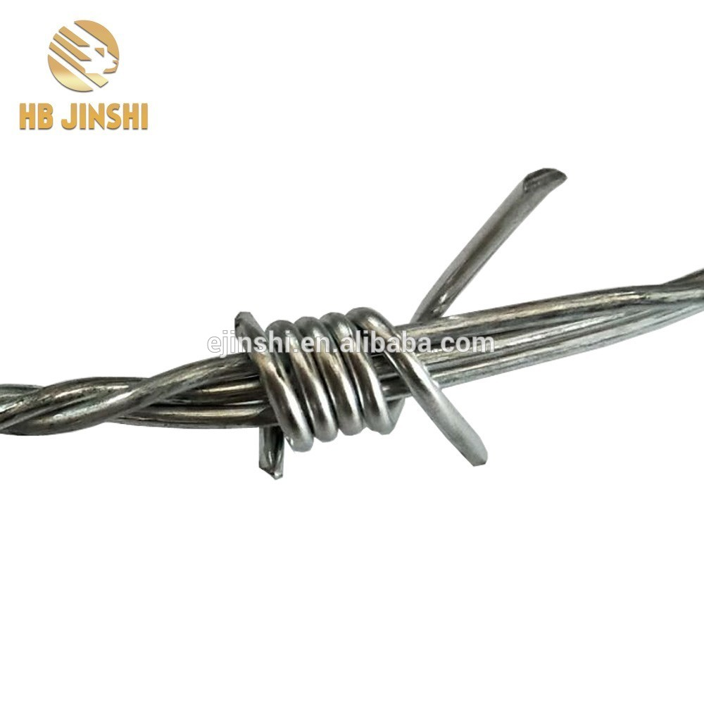 500meter length Double Twisted barbed wire