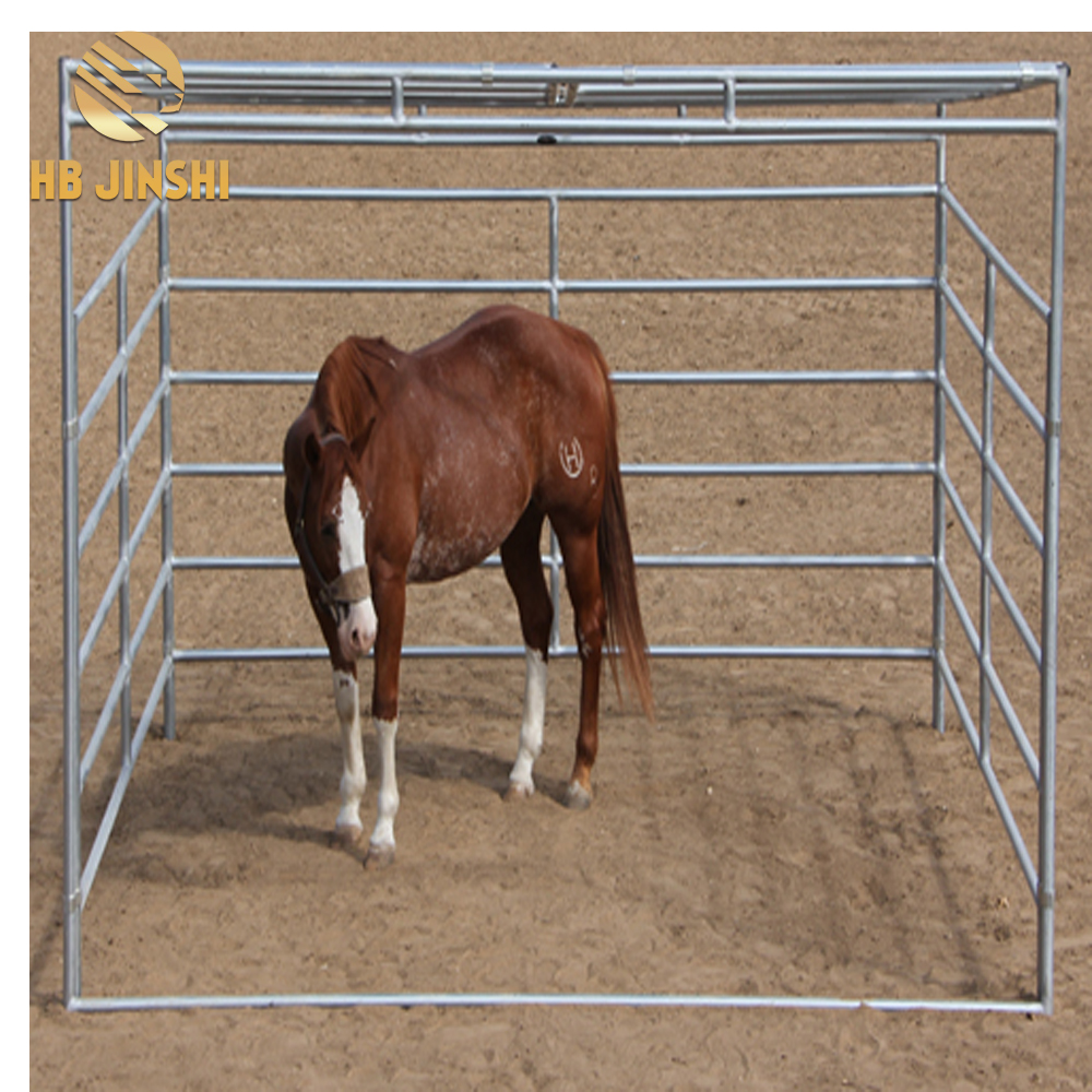 6 Rails Galvanized Cattle Fence for Horse