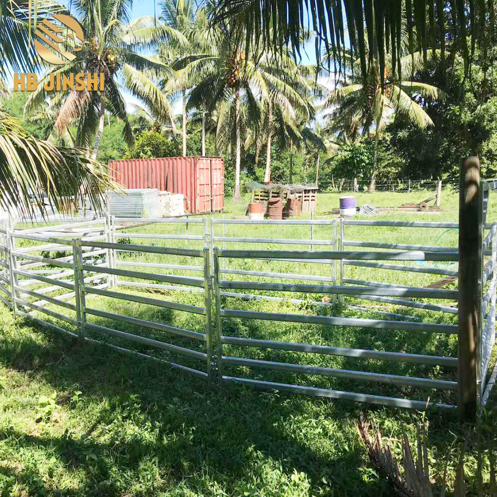 1.2×2.1m Australia type sheep panel and gate factory
