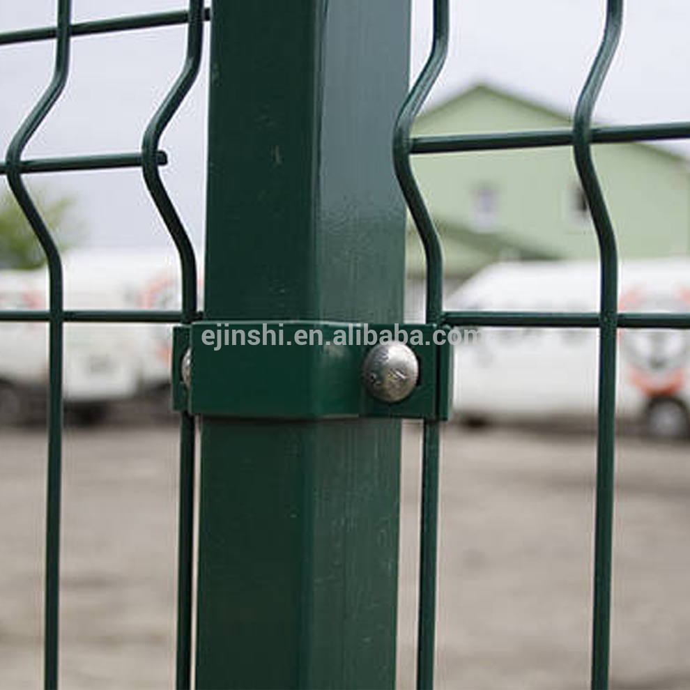 Euro Market 80cm*20m PVC Coated Euro Wire Fence / Holland Wire Mesh Fence Made in China