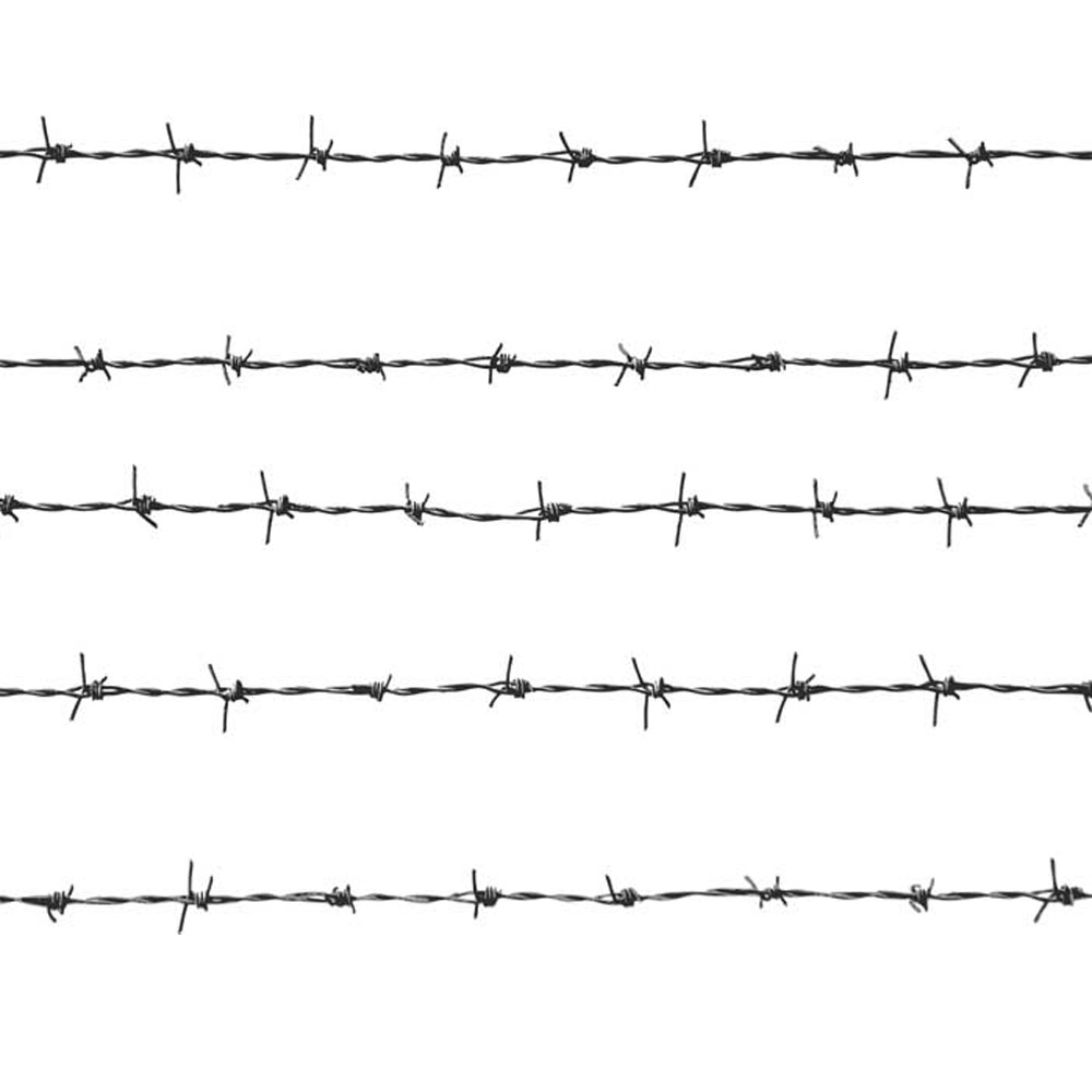 50m x 1.8mm Galvanized Steel Barbed Wire