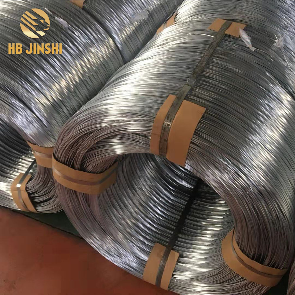 professional factory for Wire Wreath Forms – 3.4 mm Q195 Low Carbon Steel Wire Hot Dipped Galvanized Galfan Wire – JINSHI