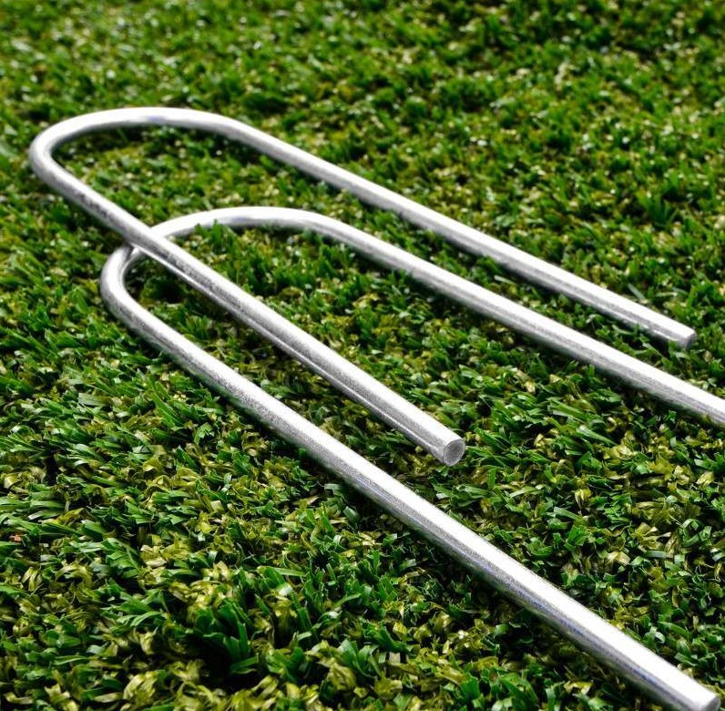 Galvanised Heavy Duty Steel Tent Stakes Heavy Duty U Type Anchors