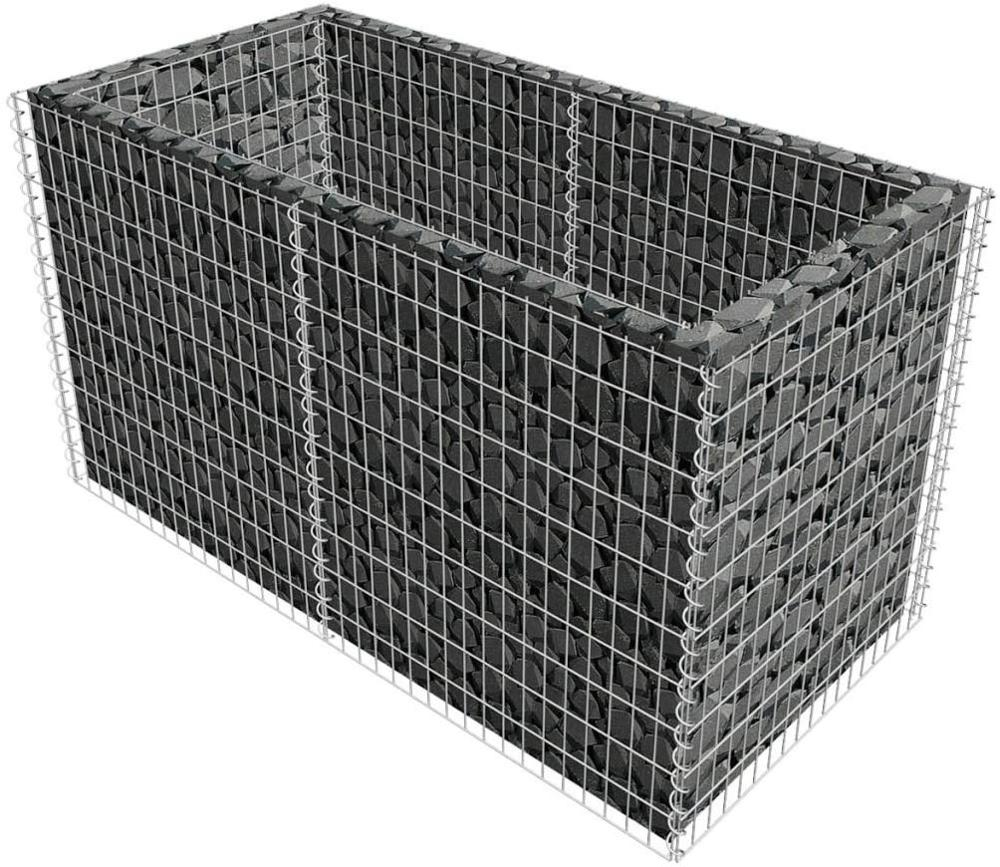 Outdoor Landscape Lawn Decorative Fence Garden Stone Wire Basket Fencing Gabion Mesh
