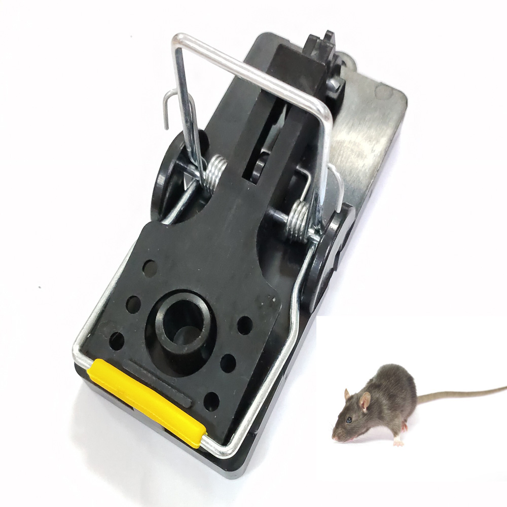 ABS Reusable Pest Control Rat Catching Mice Mouse Trap for Home Garden Use
