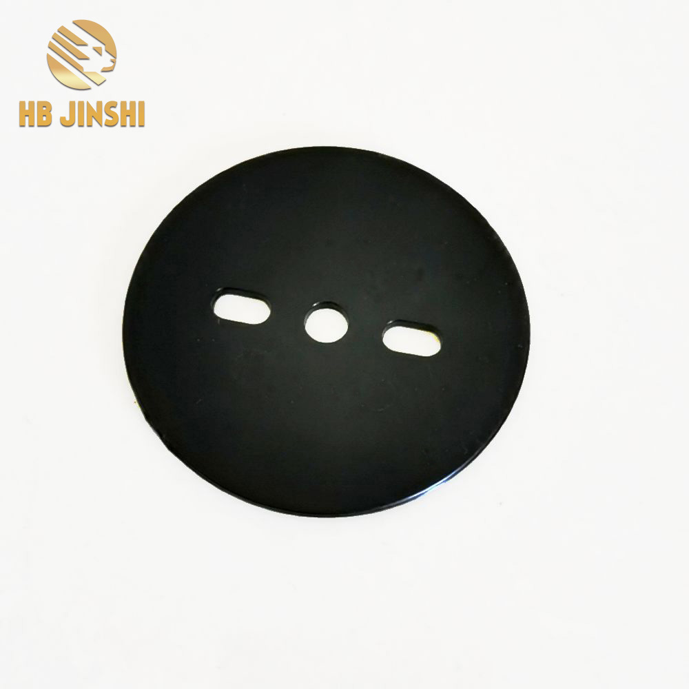 Factory For Wreaths - 60 mm Black Color Landscape Staple Gasket Turf Pins Washer – JINSHI
