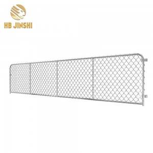 Durability Chain Link Gate Galvanized Cattle Fa...