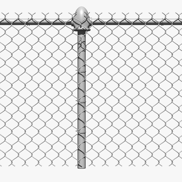 Cheapest Price Steel Grid Panels - Security Batting Cage Chain Link Fence for Farm and Field – Weian