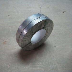 Flat galvanized Wire
