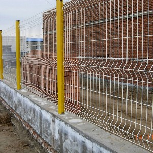 Triangle Bends Welded Mesh Fence