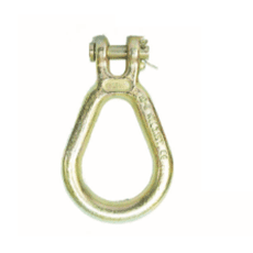 Chinese Steel Mill Safety Chain With Hook - G80 Clevis Pear Shape Link lug link  – Thunder