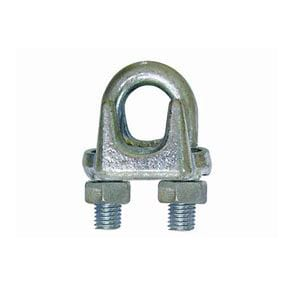 type A galv malleable wire rope clips