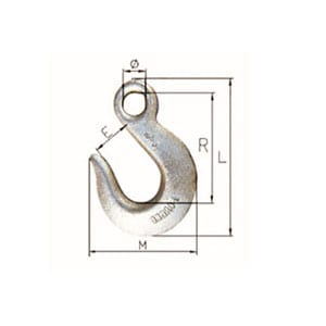 Corrugated Gl Steel Sheet Webbing Sling - H-324A-324 U.S. TYPE SLIP HOOK – Thunder Featured Image