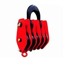 Roofing Steel In China Chain Pulley Block - 5 wheels large pulley block – Thunder Featured Image