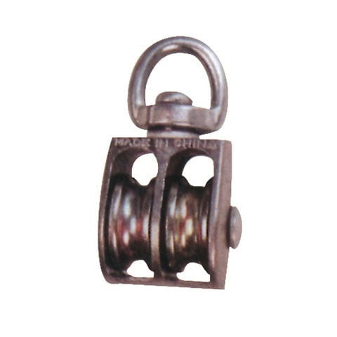 Tin-Plate Steel Hook With Latch - die casting double pulley – Thunder