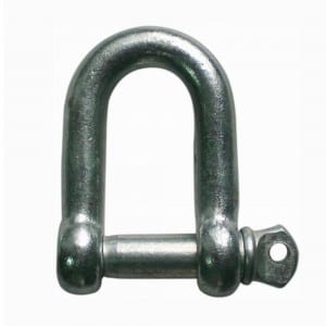 JIS Type Screw Pin Chain Shackle Dee Type with Collar