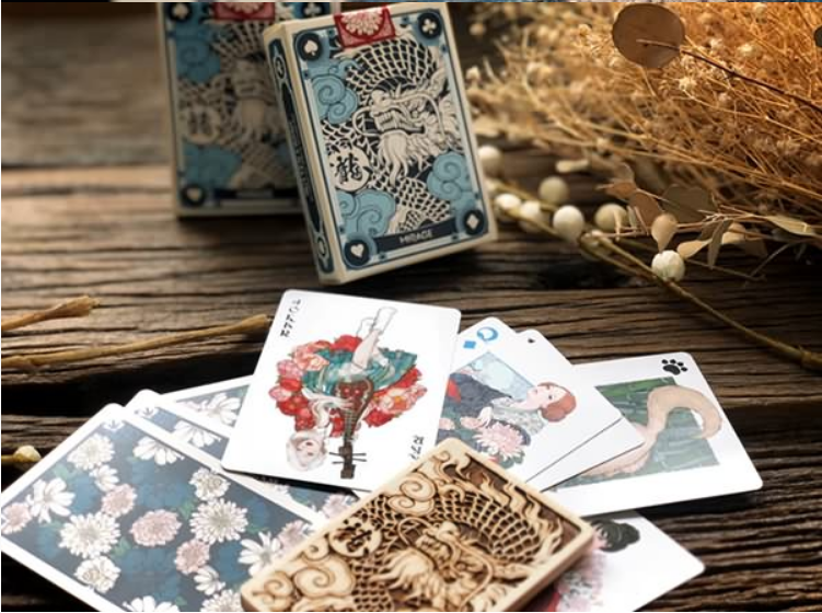 Mirage Deck of Playing Cards