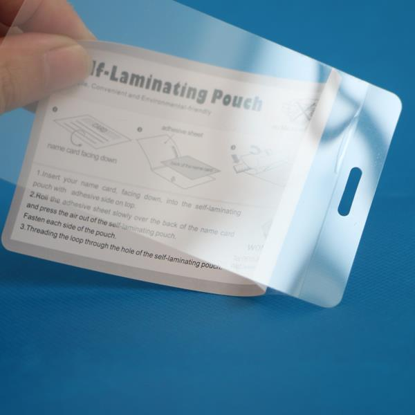 High Quality for Self Laminating Pouch -