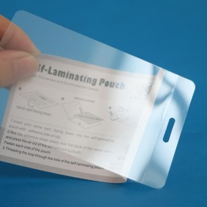 114 × 164mm féin laminate adhesive