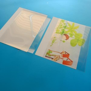 Quality Inspection for Letter Size Laminating Sheets -