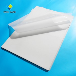 "Letter size 229×292mm 9""×11-12"" inch 3mil 5mil 7mil 10mil Anti-UV laminating pouches"