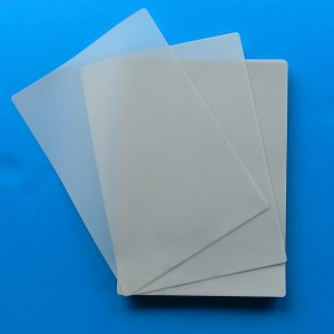 "Key card 64×99mm 2-12′×3-78"" inch 3mil 5mil 7mil 10mil matt laminating sheets"