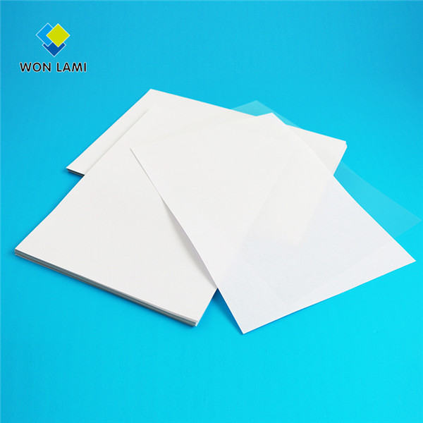 New Arrival China Sticky Back Laminating Sheet -