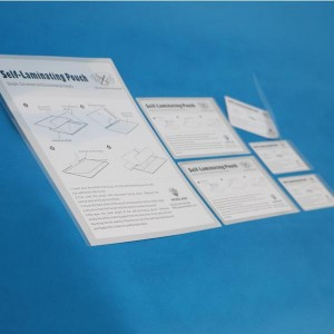 220 × 307mm self laminating sheets