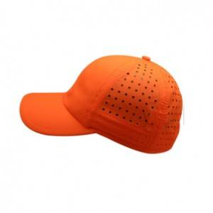 Running cap OEM light mesh outdoor blank running cap for sublimation