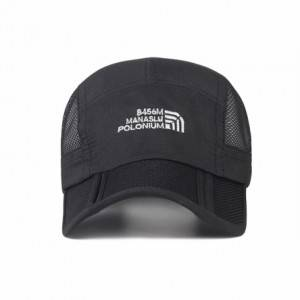 Hot sale Fashion Sun Visor Hat - Embroidery logo hats men and women 100% polyester piping running hat custom outdoor sports baseball cap – Worldlink