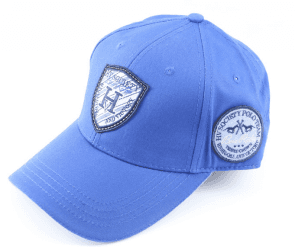 leather patch baseball cap  2019 new design high quality cotton sport hat with embossed  logo